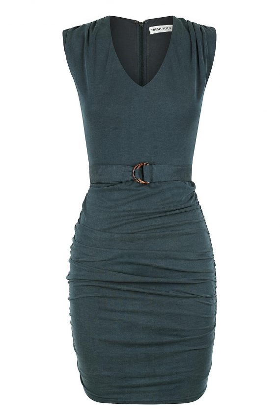 Coloma Dress Ladies Dress Colour is Green