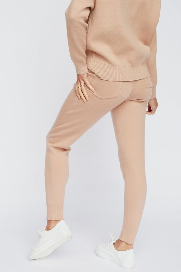Lupine Knit Pant Ladies Pants Colour is Nude