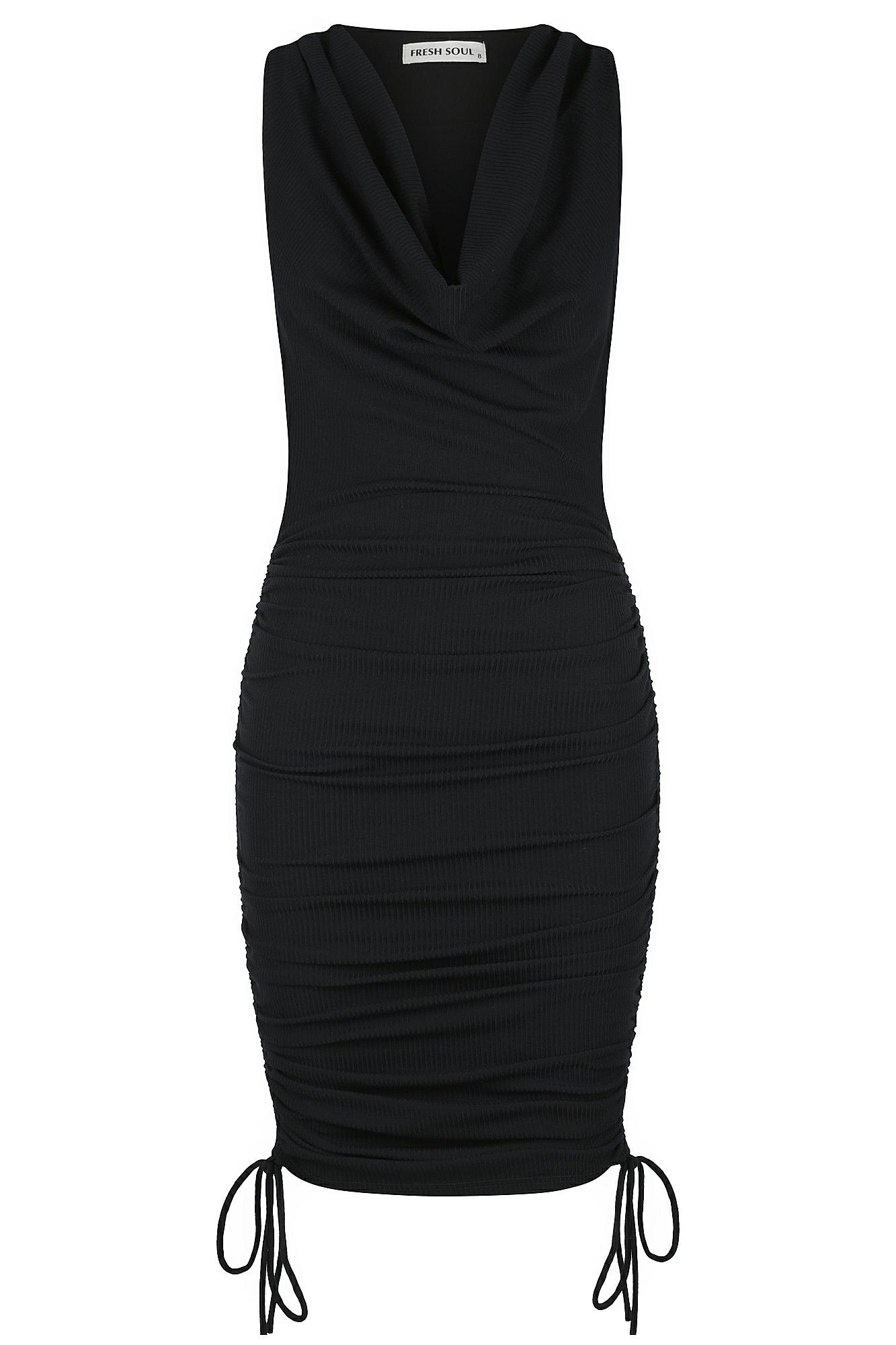 Chica Dress Ladies Dress Colour is Navy