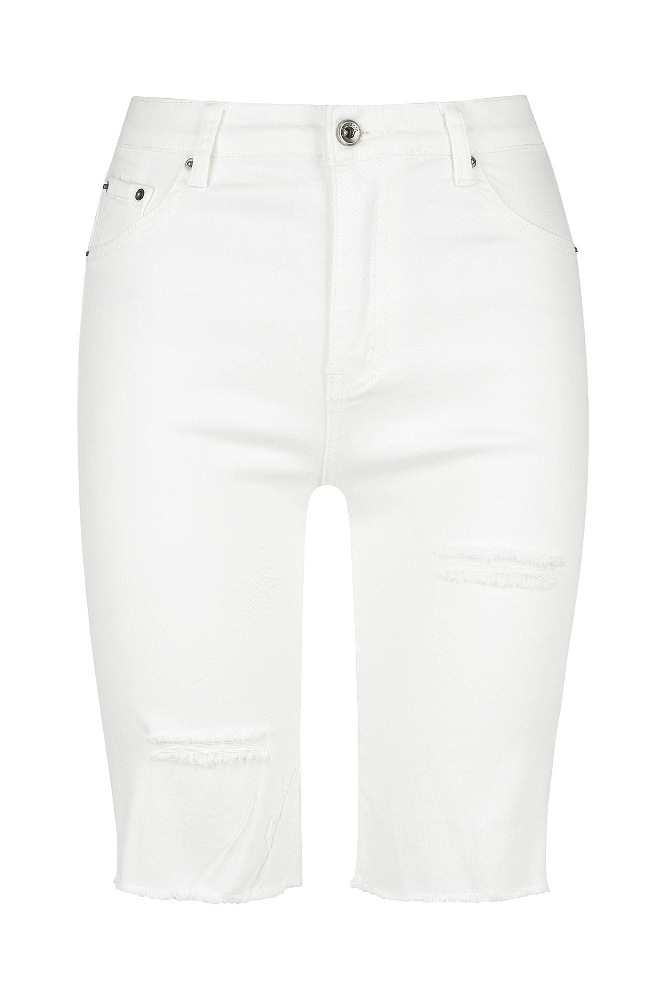 Vice Shorts Ladies Shorts Colour is White